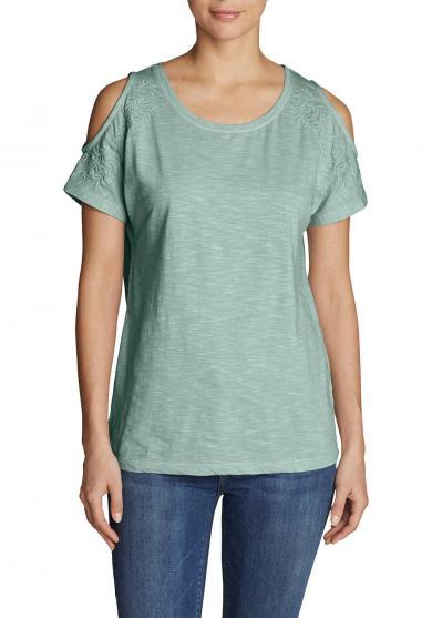 Mountain Meadow Shirt - Schulterfrei Damen