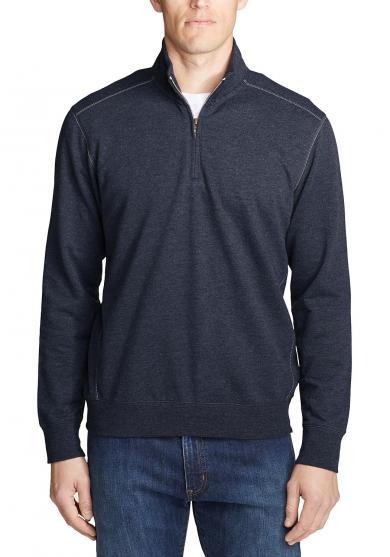 Camp Fleece Sweatshirt mit 1/4-Reissverschluss Herren