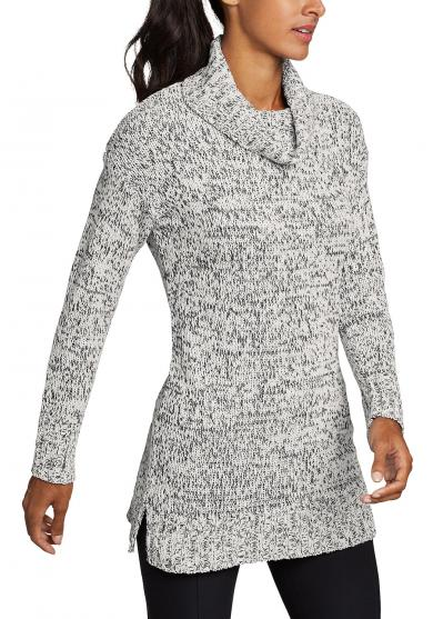 LOUNGE AROUND PULLOVER MIT ROLLKRAGEN Damen
