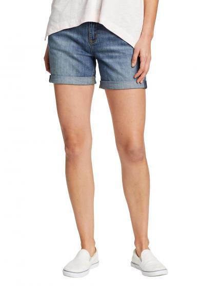 Jeansshorts - krempelbar Damen