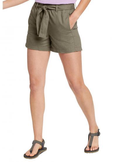 Leinen Shorts Damen