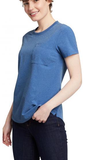 Departure T-Shirt mit Tasche Damen